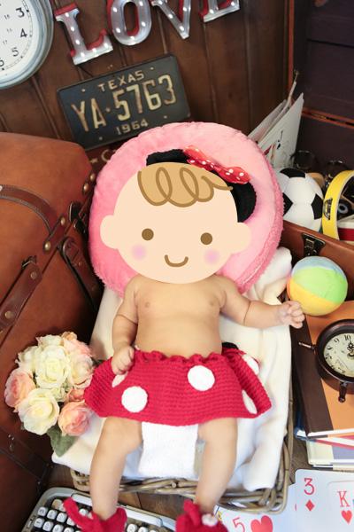 赤ちゃんスタジオ撮影